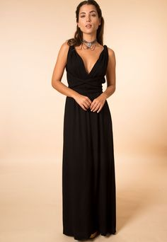 Vestido Maya Longo