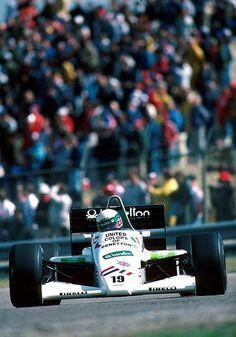1985 Benetton Toleman 185 Teo Fabi