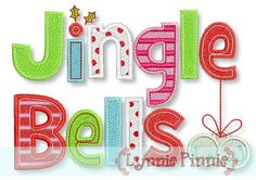 See It All - Jingle Bells Applique & Fill 5x7 - Welcome to Lynnie Pinnie.com! Instant download and free applique machine embroidery designs in PES, HUS, JEF, DST, EXP, VIP, XXX AND ART formats.