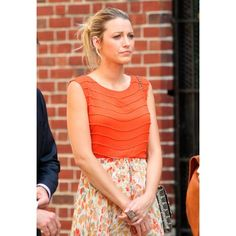 Gossip Girl Season 6 On-Set Style Blake Lively ❤ liked on Polyvore featuring blake lively and gossip girl