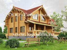 Проект деревянного дома CP-10, вид #2