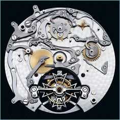 複雑なメカニズムが芸術的な美しさを持つ機械式時計の内部写真14枚 - DNA