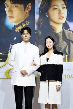 The King: Eternal Monarch Holds Star Studded Press Conference Ahead of Friday April Premiere on SBS Lee Jung Jin, Kdrama, Kim Go Eun, Korean Drama Movies, Fantasy Romance, Second World, Best Couple, Lee Min Ho, Minho