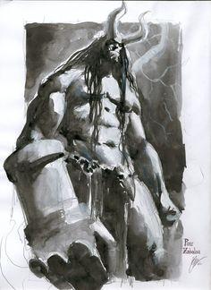 Hellboy by Gerald Parel *