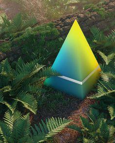 hoodass 3d Pyramid, Shape Photography, John Carter Of Mars, 3d Poster, Jungle Art, Forest Light, Dark Places, Cinema 4d, Motion Design