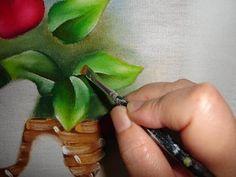 Pintura Em Tecido - Venha Aprender Pintura em Tecido: Passo a Passo Folhas