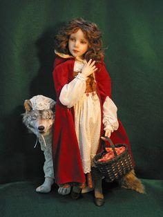 Little Red Riding Hood; Jane Bradbury Collectible Dolls