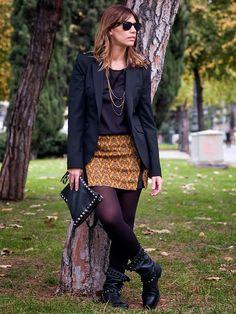 Miss trendy Barcelona: Estampado otoñal