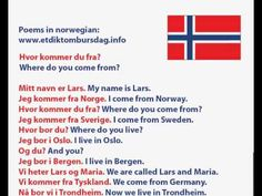 Norwegian language - Hvor kommer du fra? Where do you come from? Norway Culture, Danish Language, Learn Korean Alphabet, Norwegian Words, Norway Language, Proverbs Quotes, Senior Trip, Study Motivation, Inspirational Quotes