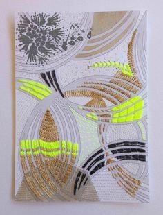 © Paravent: Paper Stitchery still a work in progress :)