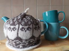 Ravelry: I Talk With The Moon Tea Cosy pattern by K.M. Bedigan