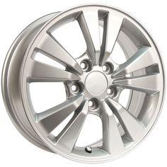 RTX Wheels - RTX OE - Akio Grandeur/Size : 16X6.5 http://www.rtxwheels.com/en/wheels/rtxwheels-akio-silver