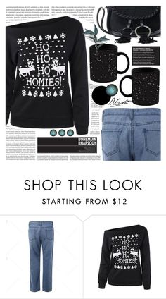 """""""Christmas style: Sweaters"""" by pastelneon ❤ liked on Polyvore featuring Oris"""