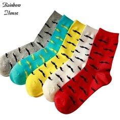 Enthusiastic New Style Couples Long Tube Men And Women Personality Popular Elements Street Skateboard Hip-hop Hip Hop Cotton Socks Underwear & Sleepwears