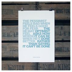 attitude unframed recycled paper print | wood and willow