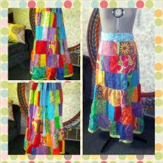 Patchwork Clothing Hippie    #hippie #Patchworkskirt #Gratefuldead #bohemian https://www.etsy.com/shop/LionWear