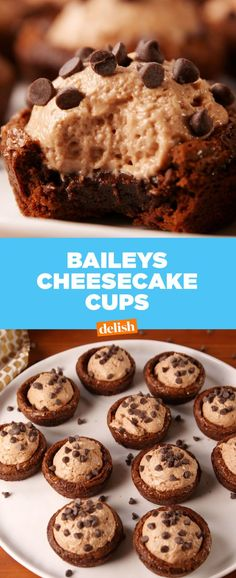 Baileys Cheesecake Cups Are Pure Decadence  - Delish.com
