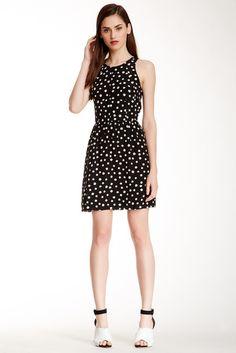 Rebecca Taylor Polka Dot Dress $179 (@kafine)
