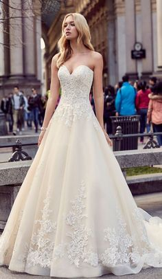 Ball gown wedding dress | Amazing look