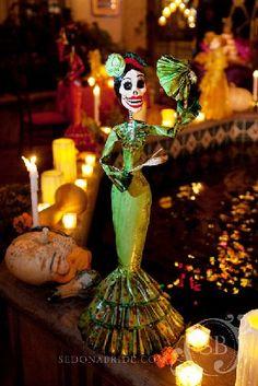 Dia de los Muertos at Tlaquepaque Arts & Crafts Village.... Sedona, AZ