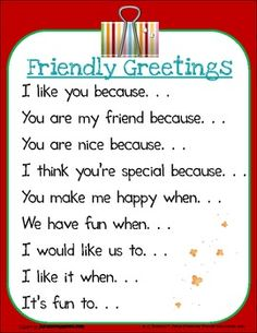 """Friendly Letter Writing """"Message Center"""" - TPT, Free"""
