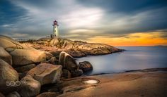 I recently returned from a trip to Canada and New England where I had the opportunity to capture some of the iconic landscapes of the region, namely the beautiful Peggy's Cove in Nova Scotia. I was lucky enough to capture this famous lighthouse at sunset.
