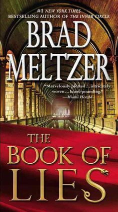 Brad Meltzer--author of the #1 New York Times bestseller The Book of Fate…