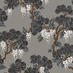 Cole & Son - Frontier Wisteria wallpaper