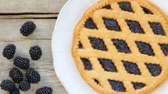 طريقة عمل تارت بمربى التوت وجبن الماسكاربوني - Blackberry jam and mascarpone cheese tart recipe