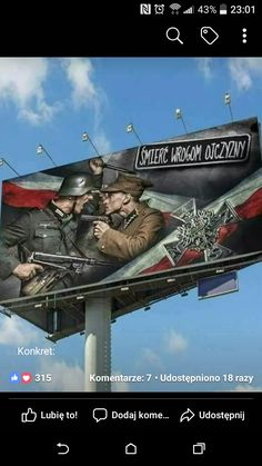 Poles in Polish billboards World History, World War, Poland Hetalia, Poland Ww2, Poland Culture, Battlefield 5, Visit Poland, Wwii, Death
