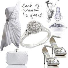 203c2d385b9da Beyaz tek askılı abiye elbise,abiye ayakkabı,abiye çanta, parfüm ve  pırlanta tek