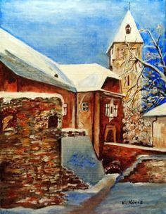 Karácsonyi hangulat. ( Hollókő) ) Techno, Painting, Art, Art Background, Painting Art, Kunst, Paintings, Performing Arts, Techno Music