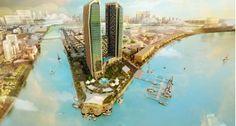 Dự án căn hộ Cape Pearl do tập đoàn bất động sản Ssg Group và tổng công ty xây dựng cổ phần dầu khí Petrosetco hợp tác đầu tư xây dựng tại vị trí số 12AB Thanh Đa, Phường 27, Quận Bình Thạnh, TP Hồ Chí Minh quy mô 39 tầng với diện tích gần 20 000m2 trên bờ sông Sài Gòn. Cape Pearl được khởi công xây dựng vào 19/02/2011 dự kiến hoàn thành vào năm 2016. Trước đây dự án còn có tên gọi là Thanh Đa Pearl theo vị trí tọa lạc về sau đổi thành Cape Pearl.