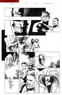 Kwan Chang :: For Sale Artwork :: Inhumanity # 1 by artist Olivier Coipel