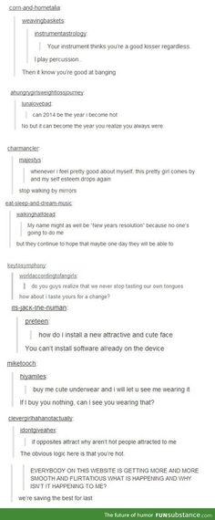 Tumblr being real smooth