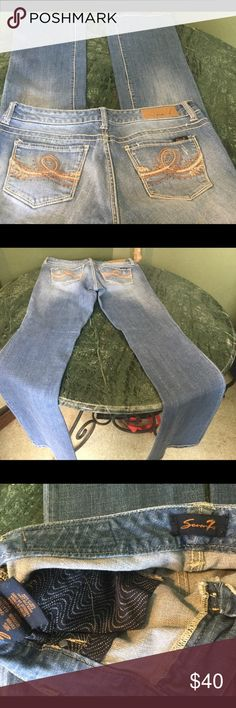 Like new 7 for all mankind jeans. Size 10. Excellent condition, like new, worn once. Size 10. 7 For All Mankind Jeans