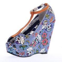 IRON FIST SHOES   Iron fist - Shoes- Filthy-Landlubber - Platform - Wedge