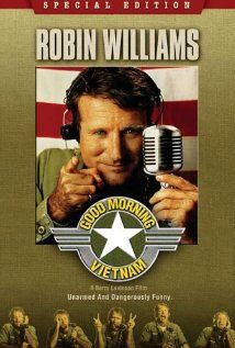 An unorthodox and irreverent DJ begins to shake up things when he is assigned to the US Armed Services Radio station in Vietnam.    Director: Barry Levinson  Writer: Mitch Markowitz  Stars: Robin Williams, Forest Whitaker and Tung Thanh Tran