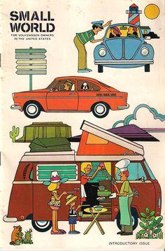 Volkswagen magazine Small world, 1970