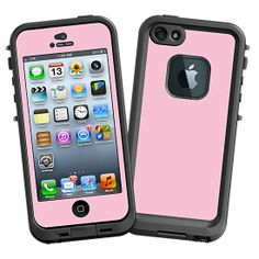 Baby Pink #Skin  for the #lifeproof #iphone5 and #iphone5s #Case by #Skinzy.com