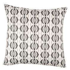 Imperial white cushion by Annabel Perrin Pillow Room, Living Room Pillows, White Cushions, Fabrics, Throw Pillows, Black And White, Collection, Tejidos, Toss Pillows
