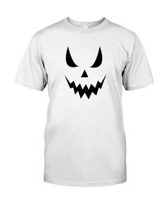 CHECK OUT OTHER AWESOME DESIGNS HERE!  makes a great halloween shirt to wear to parties, out trick or treating, volunteering, school events or anywhere!  SIZE UP for a loose fit. Check out all our Emoticon Pumpkin Face Halloween Shirts. Give the gift of tshirts this christmas, birthday, anniversary, mothers day, fathers day or any day.