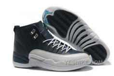 Big Discount 66 OFF Air Jordans 12 Retro Obsidian  White French Blue For Sale K2m3f