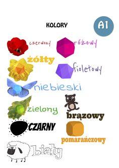 Kolory - język polski