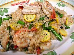 大皿に盛って、みんなでワイワイ食べよう! イタリア人も納得の「エビとアスパラのリゾット」