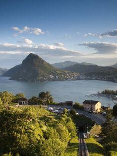 Ticino, Monte San Salvador, Switzerland