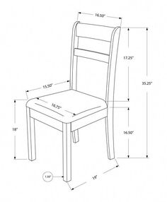 Free DIY Furniture Plans to Build a Shabby Chic Cottage Dining Chair - The Design Confidential Dinning Chairs, Solid Wood Dining Chairs, Dining Table Design, Side Chairs, Room Chairs, Bag Chairs, Lounge Chairs, Iron Furniture, Diy Furniture Plans