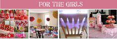 girl themed birthday parties