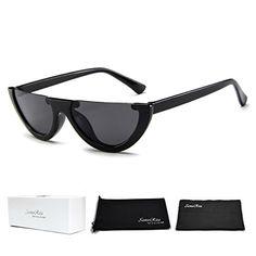 4e8db284c9a1 Sunglasses $8.99 SamuRita Bold Half Lens Frame Cat Eye Sunglasses Mod  Tinted .