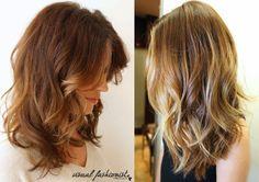 Tagli capelli lunghi con frangia 2015 autunno inverno FOTO